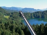 Skiflug m See
