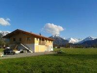 Ihr Feriendomizil vor der Kulisse der Oberstdorfer Berge