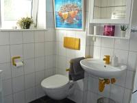 Bad mit Dusche/ WC