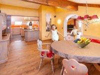 Essbereich Küche mit Familie