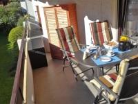 Frühstück und Relaxen auf dem Balkon