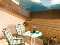 Balkon Ferienappartement Nebelhornblick