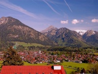 Blick über Oberstdorf (Sommer)
