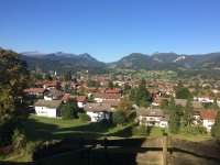 Blick über Oberstdorf