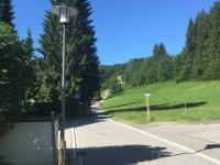 Ferienwohnung Voss Meißner Wanderweg direkt vor der Tür