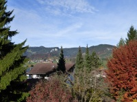 Blick vom Westbalkon