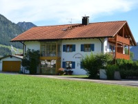 Nordseite unseres Hauses