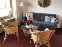 Fewo_2, Neue Couch im Wohnzimmer