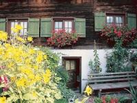 Sommerlaune im Garten der Ferienwohnungen Dünßer