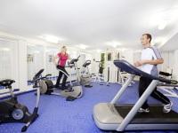 Mit unserem Fitnessraum bleiben Sie in Bewegung