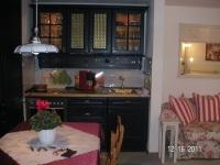 Küchenzeile in der Wohnung Söllereck