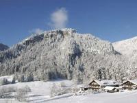 im Winter sind Loipe und Skilift nur 300 m entfernt