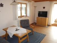 Wohnraum Ferienwohnung Alpenrose