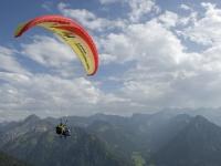 Bestes Flugwetter am Nebelhorn