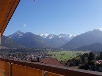Gipfelblick Balkon