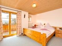 Ferienwohnung West - Schlafzimmer