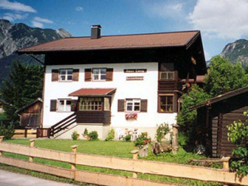 Haus Lang - Ansicht Sommer