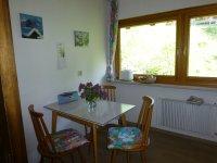Sitzplatz in der abgetrennten Küche