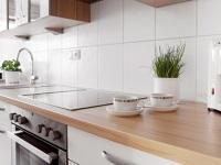 Küchenzeile der Ferienwohnung 1