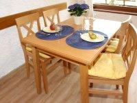 Ferienwohnung Nebelhorn Tisch
