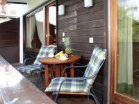 Ferienwohnung Edelweiss, Balkon mit Bestuhlung