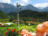 Panoramablick auf die Oberstdorfer Berge