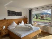 Schlafzimmer Ferienwohnung Rubihornblick