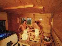 Sauna in der Burgmühle inklusive