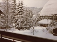 Balkonblick/Winter