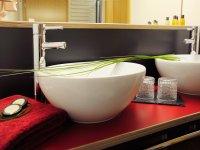 Badezimmer im frischen Design