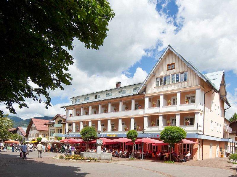 Unsere schöne Sonnen-Terrasse am Hotel Mohren