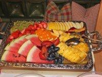 Lecker Obst am Buffet