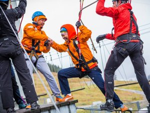 ICO Skywalk Teamparcours