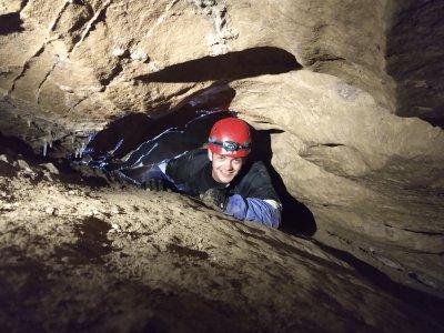 Höhle Kriechgang