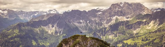 Allgäu alpen panorama