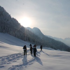 Schneeschuh-Wanderung ICO-Oberstdorf