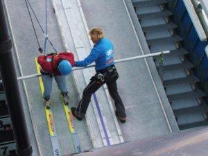 Faszination Skispringen - Technik