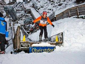 Skisprungworkshop - Sprung