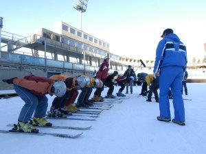 Skisprungworkshop - Absprungübung