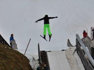 Skisprungworkshop - Flug