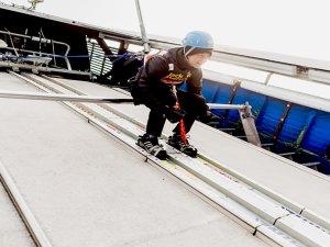 Skispringer-Feeling - Startposition