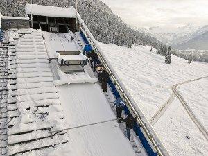 Skispringer-Feeling - Winter