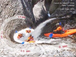 Peter-Tuemmers Befahrung-Canon-de-Caracol Chile