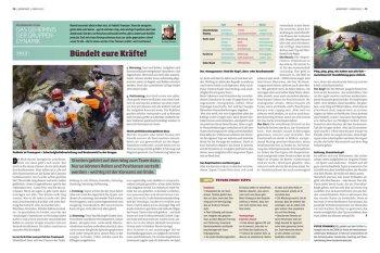 KANU-Magazin: Mentalworkshop Serie von Peter Tümmers Wie aus Angst Mut wird Teil 3