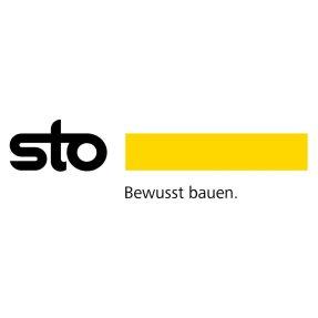 Logo Sto - Bewusst bauen.