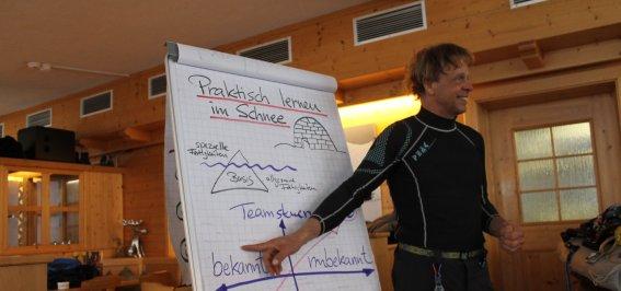 Peter Tümmers von Schoenebeck im Outdoor-Training