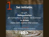Charisma-Prinzip 1: Sei initiativ.