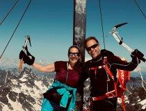 Peter Tümmers am Gipfel der Schneeglocke (Montafon) - ICO ImpulseConsult Oberstdorf