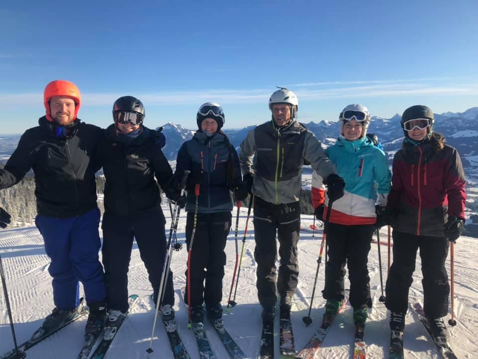 ICO Team-Skifahren Berg