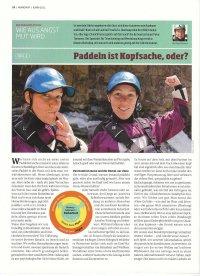KANU-Magazin: Mentalworkshop Serie von Peter Tümmers Wie aus Angst Mut wird Teil 1